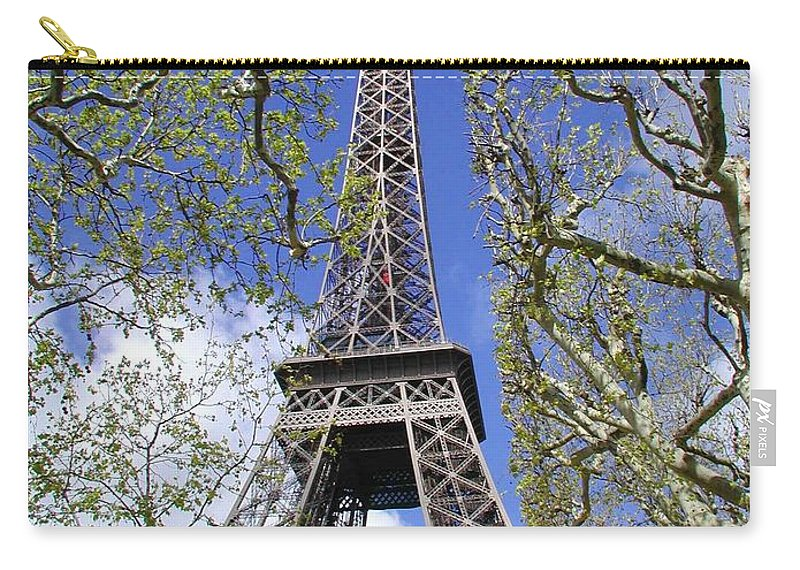 Paris Carry-all Pouch featuring the photograph April In Paris by Tom Reynen