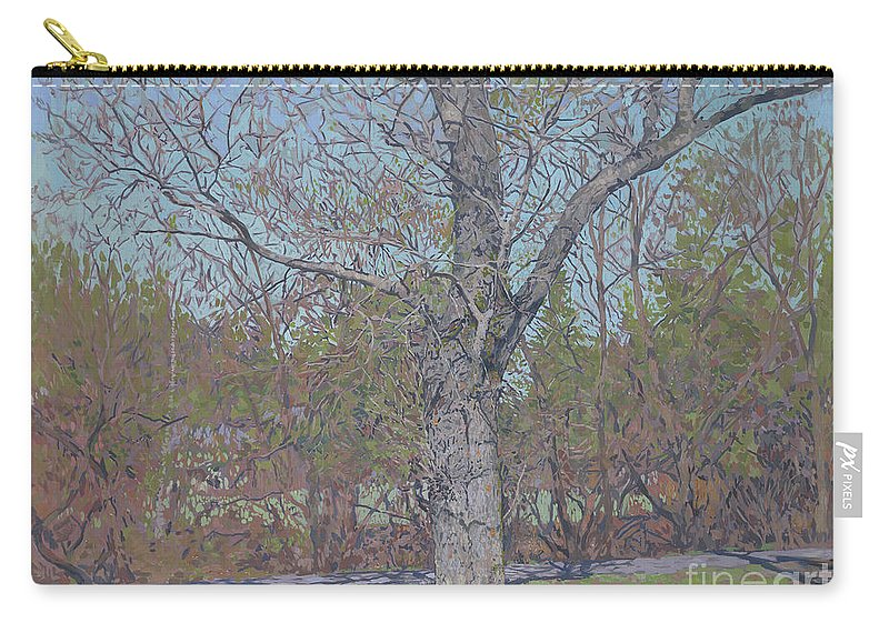 April Carry-all Pouch featuring the painting April by Simon Kozhin
