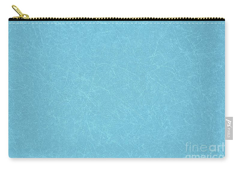 Aquamarine Carry-all Pouch featuring the photograph Aquamarine Background by Oren Shalev