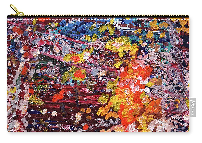 Fusionart Carry-all Pouch featuring the painting Aquarium by Ralph White