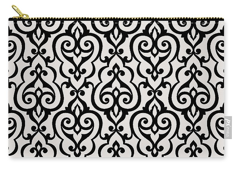 Arabesque Carry-all Pouch featuring the digital art Arabesque by Long Shot