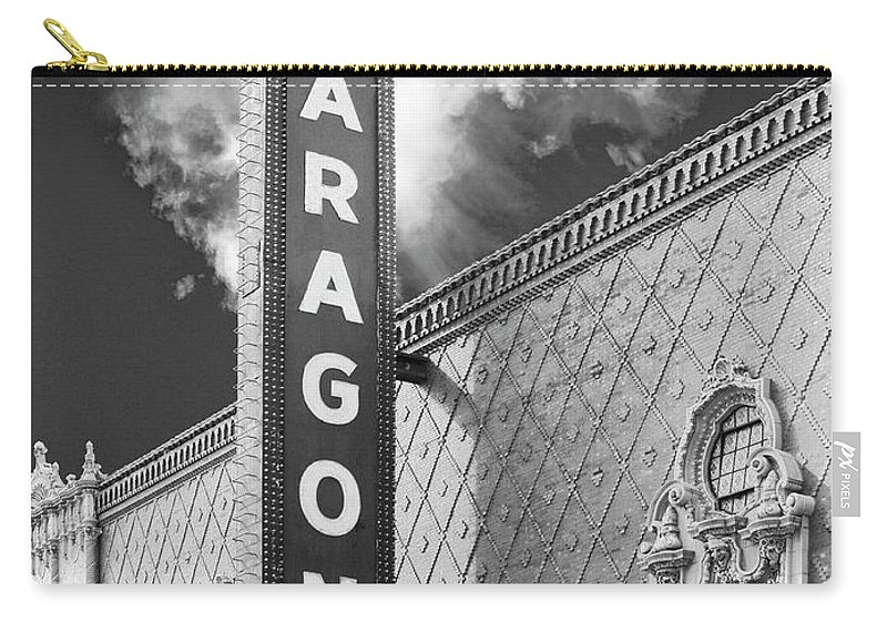 Aragon Carry-all Pouch featuring the photograph Aragon Age Aragon Ballroom by William Dey