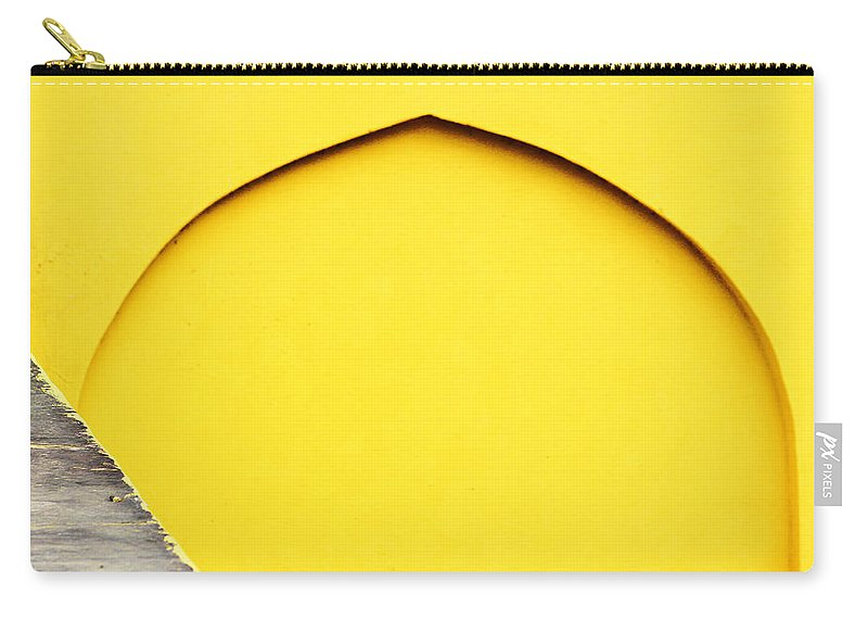 Arc Carry-all Pouch featuring the photograph Arc And The Triangle by Prakash Ghai