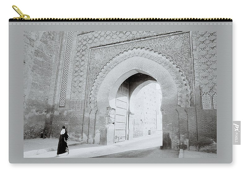 Dawn Carry-all Pouch featuring the photograph Arch In The Casbah by Shaun Higson