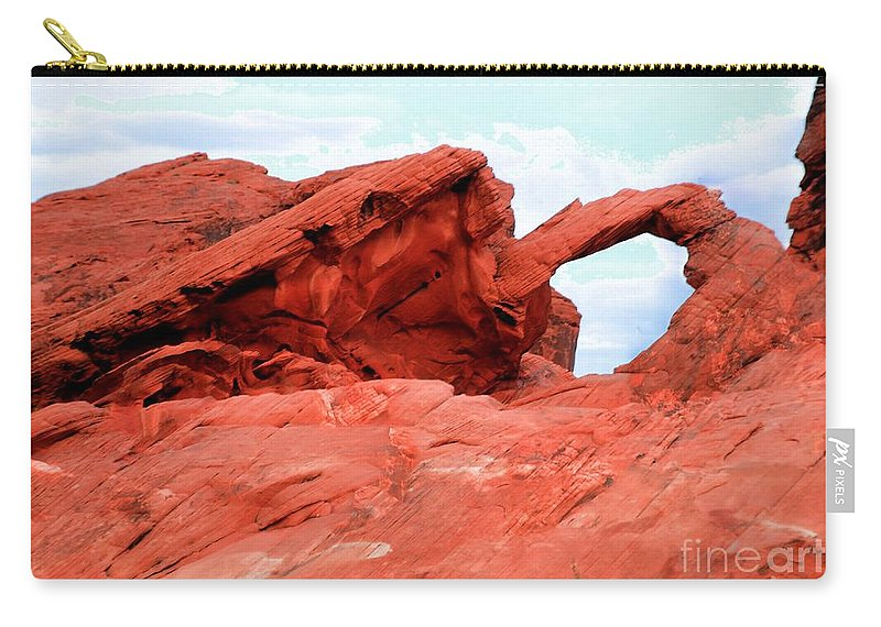 Arch Carry-all Pouch featuring the photograph Arch by Kathleen Struckle