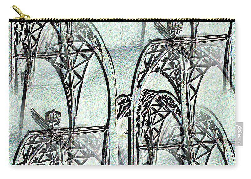 Seattle Carry-all Pouch featuring the photograph Arches 4 by Tim Allen