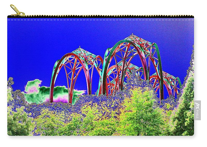 Seattle Carry-all Pouch featuring the photograph Arches 6 by Tim Allen