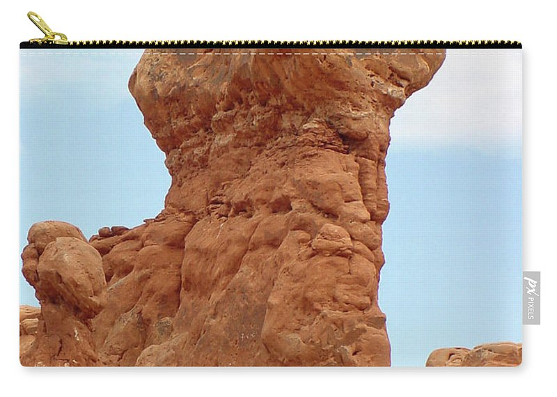 Arches National Park Carry-all Pouch featuring the photograph Arches Formation 26 by Dawn Amber Hood