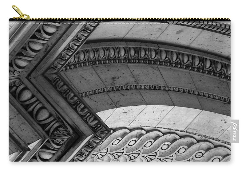 Architecture Carry-all Pouch featuring the photograph Architectural Details Of The Arc by Donna Corless
