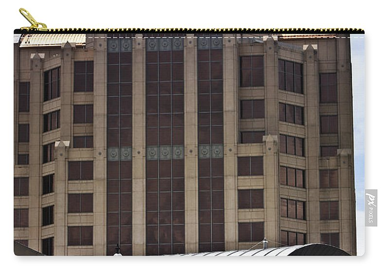 Architecture Carry-all Pouch featuring the photograph Architectural Differences Roanoke Virginia by Teresa Mucha