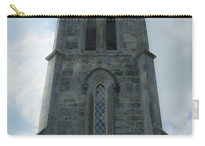 Irish Carry-all Pouch featuring the photograph Ardcroney Church County Clare Ireland by Teresa Mucha