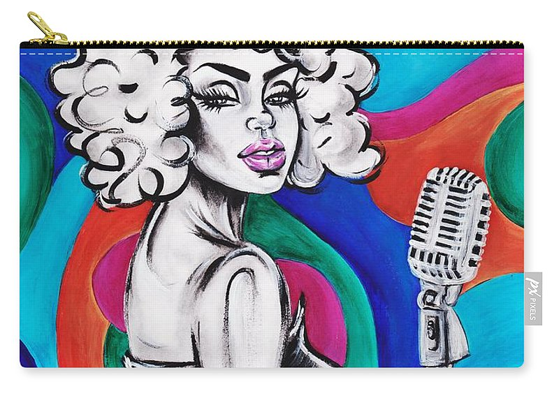 Artistria Carry-all Pouch featuring the photograph Are You Listenin by Artist RiA