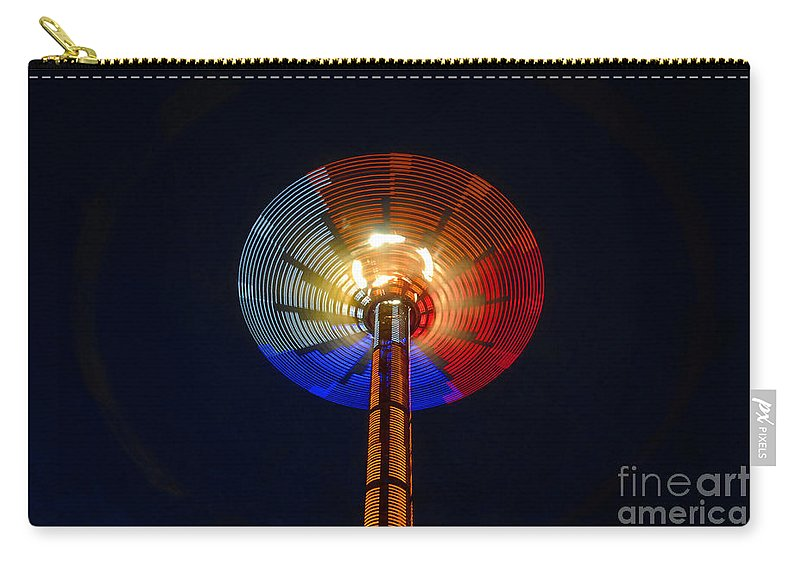 Modern Carry-all Pouch featuring the photograph Area 51 by David Lee Thompson