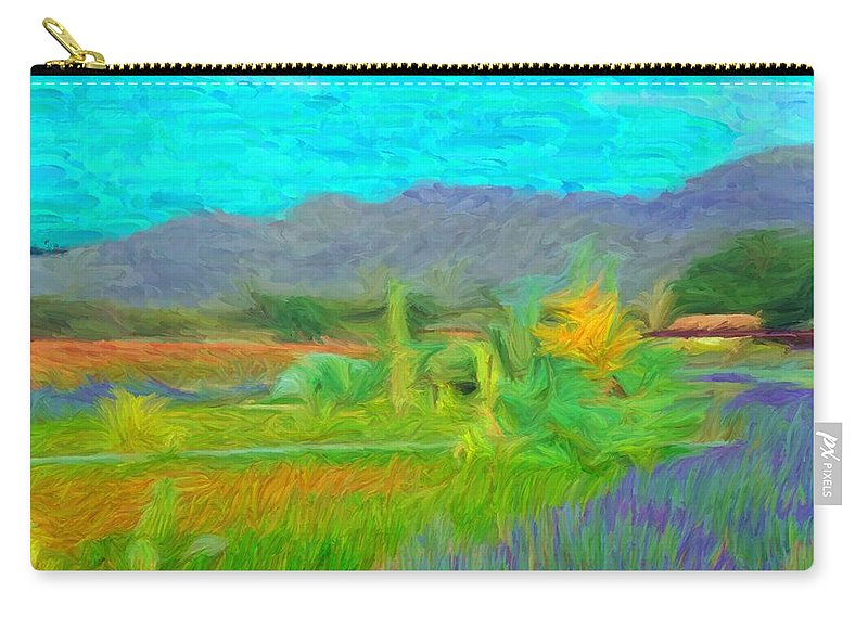 Argentina Carry-all Pouch featuring the digital art Argentina 1 - by Caito Junqueira