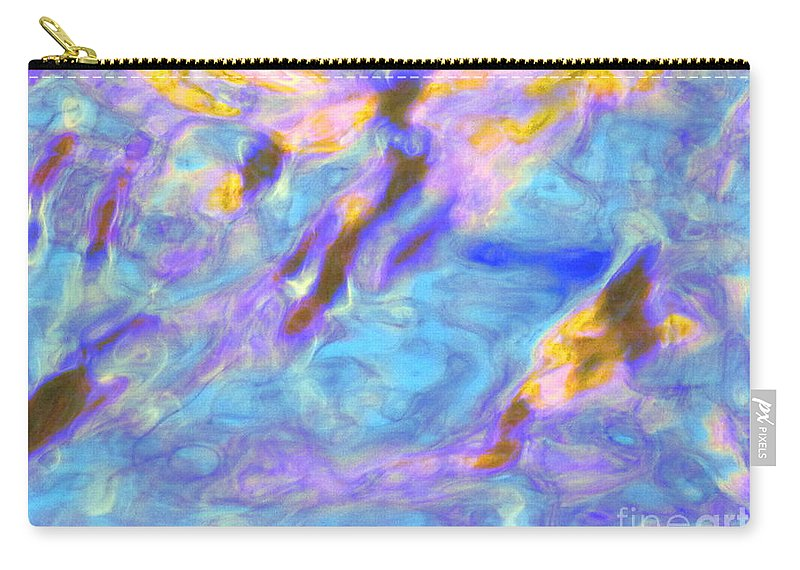 Abstract Carry-all Pouch featuring the photograph Love What Arises by Sybil Staples