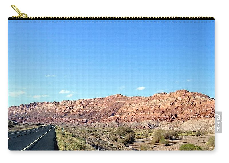Arizona Carry-all Pouch featuring the photograph Arizona 17 by Will Borden