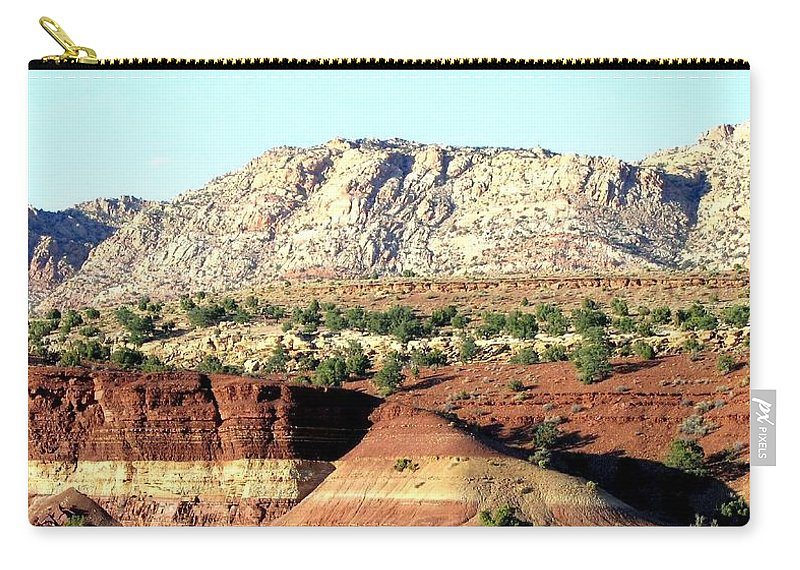 Arizona Carry-all Pouch featuring the photograph Arizona 18 by Will Borden