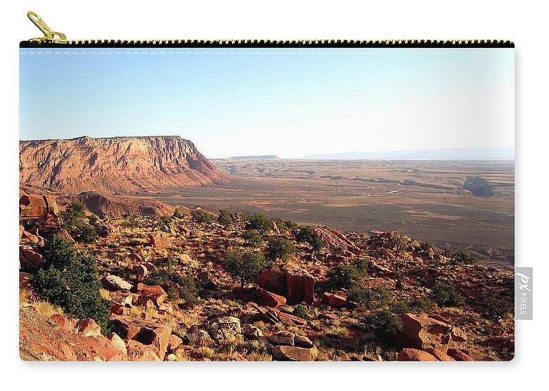Arizona Carry-all Pouch featuring the photograph Arizona 19 by Will Borden