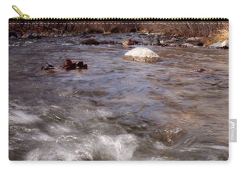 Creek Carry-all Pouch featuring the photograph Arizona Creek by Scott Sawyer