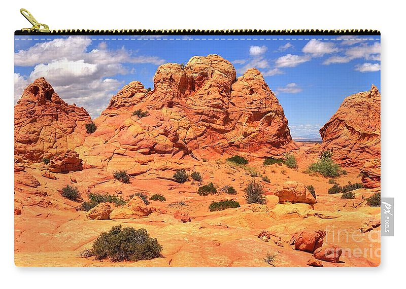 Utah Panorama Carry-all Pouch featuring the photograph Arizona Elegance by Adam Jewell