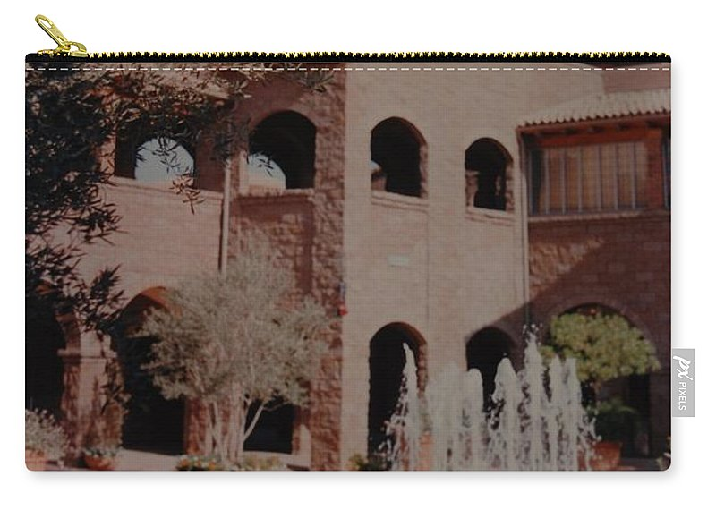 Arizona Carry-all Pouch featuring the photograph Arizona Water by Rob Hans