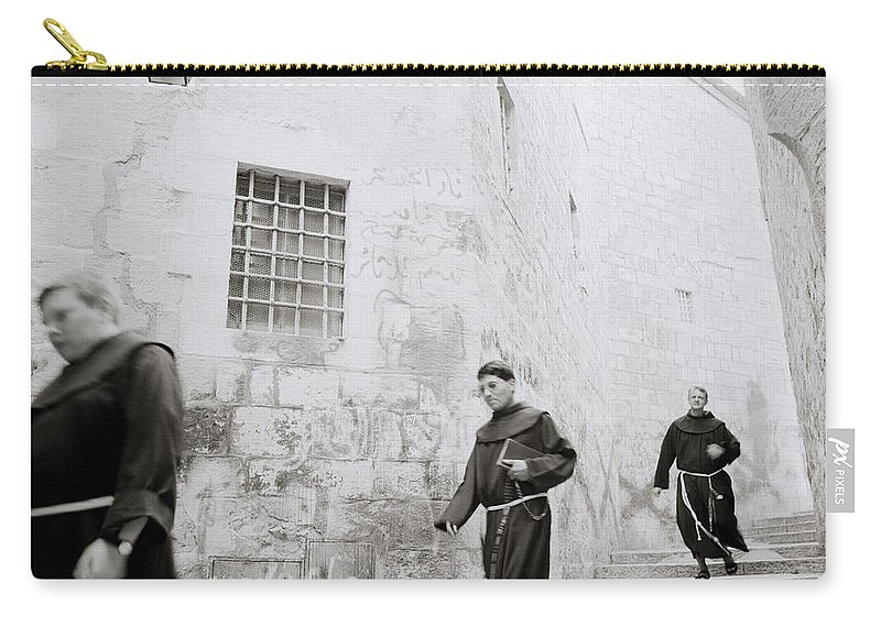 Jerusalem Carry-all Pouch featuring the photograph Armenian Quarter Jerusalem by Shaun Higson