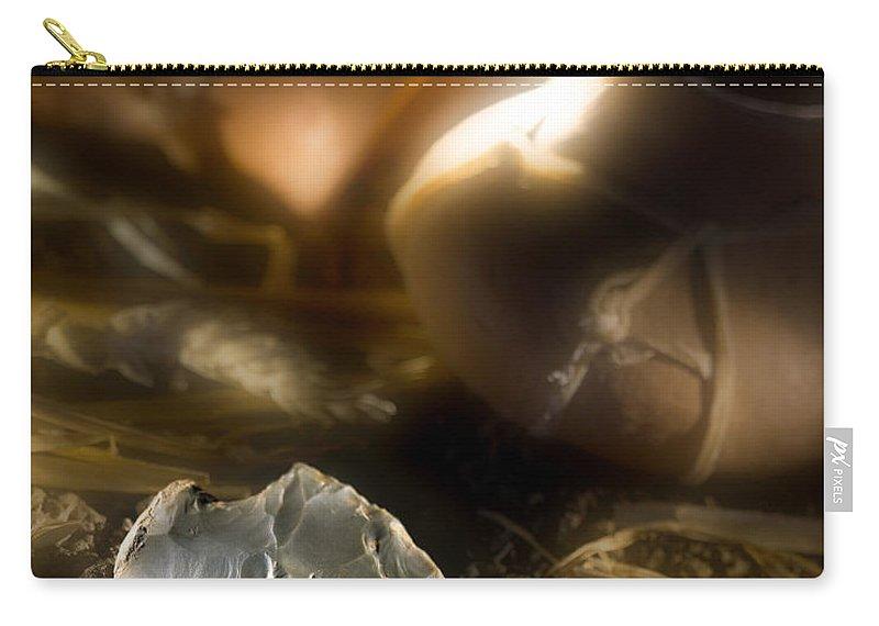 Arrowhead Carry-all Pouch featuring the photograph Arrowhead by Daniel Troy