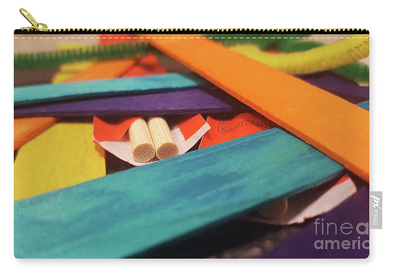 Abstract Carry-all Pouch featuring the photograph Art Class by Cheryle Gannaway