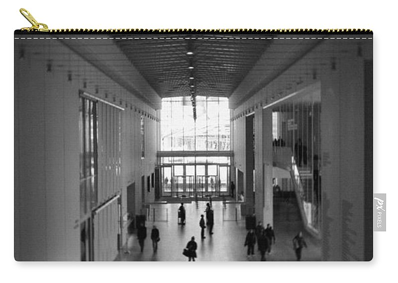 Art Institute Of Chicago Carry-all Pouch featuring the photograph Art Institute Of Chicago Modern Wing by Kyle Hanson