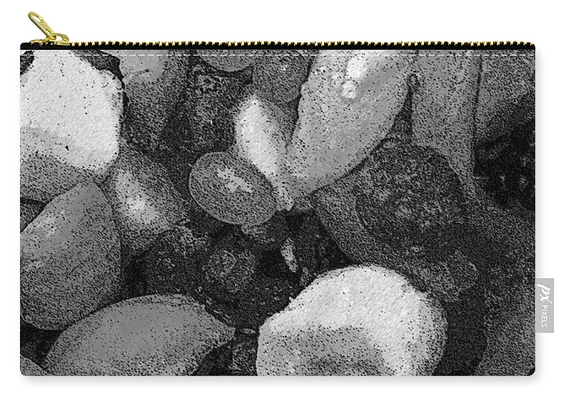 Food Carry-all Pouch featuring the digital art Art Of Breakfast by Mel Neuhaus