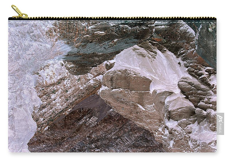 Art Photography Carry-all Pouch featuring the photograph Art Print Canyon 15 by Harry Gruenert