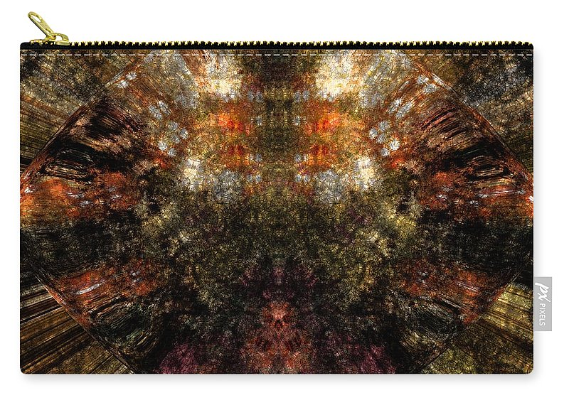 Fantasy Carry-all Pouch featuring the digital art Artifact by David Lane