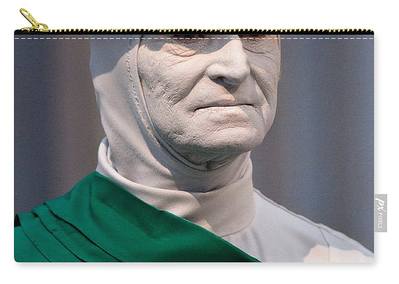 Artist Carry-all Pouch featuring the photograph Artist In The Pale by Christopher Holmes