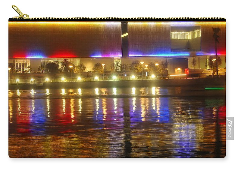 Tampa Bay Art Center Carry-all Pouch featuring the photograph Artistic Reflections by David Lee Thompson