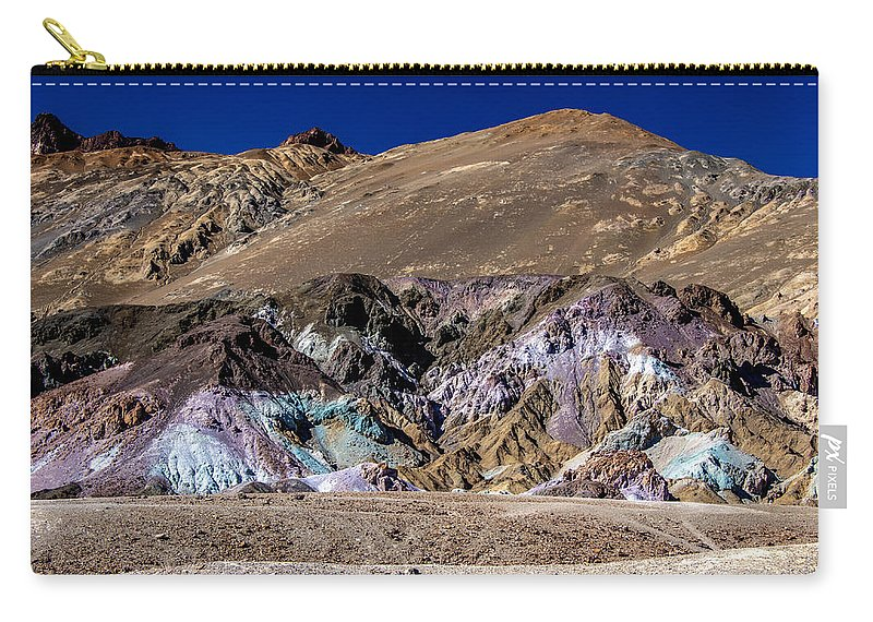 Desert Carry-all Pouch featuring the photograph Artists Pallete by Patrick Boening