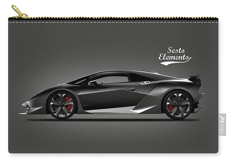 Lamborghini Sesto Elemento Carry All Pouch For Sale By Mark Rogan