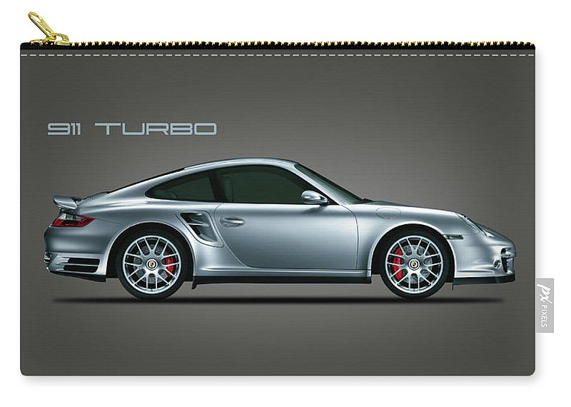 Porsche Carry-all Pouch featuring the photograph The Iconic 911 Turbo by Mark Rogan