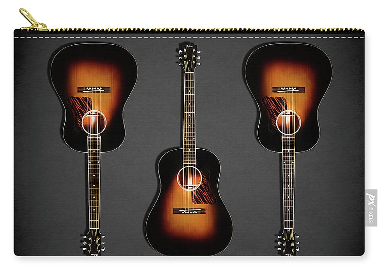 Gibson Original Jumbo Carry-all Pouch featuring the photograph Gibson Original Jumbo 1934 by Mark Rogan