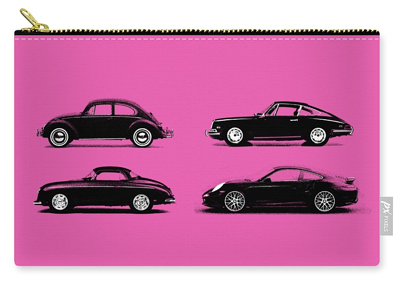 Porsche Carry-all Pouch featuring the photograph Evolution by Mark Rogan