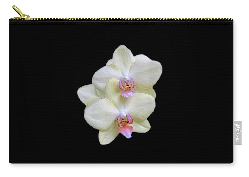 Orchids Carry-all Pouch featuring the photograph Serenity by Elizabeth Duggan