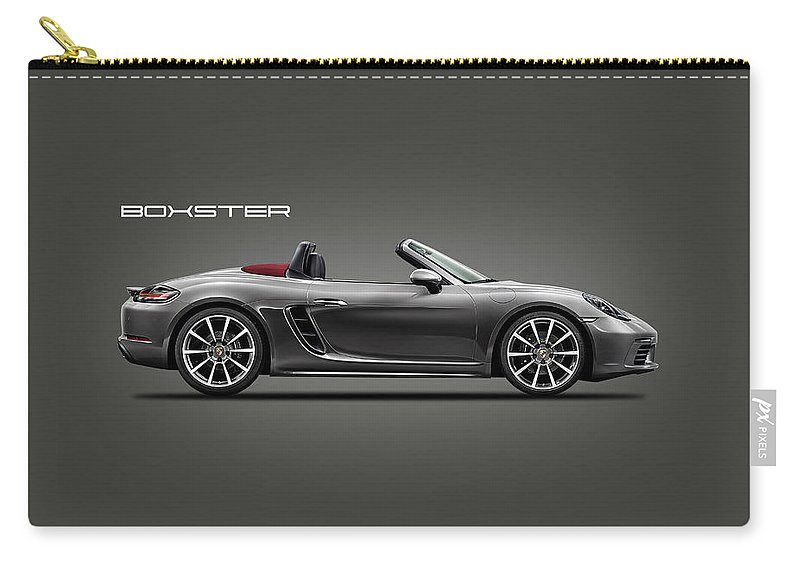 Porsche Boxster Carry-all Pouch featuring the photograph The Boxster by Mark Rogan