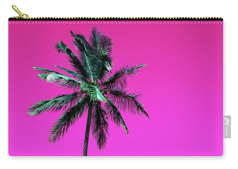 Palm Carry-all Pouch featuring the photograph Palm Tree Puerto Rico by Vasula Tsongas