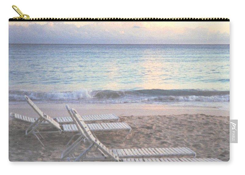 Aruba Carry-all Pouch featuring the photograph Aruba Beach by Ian MacDonald