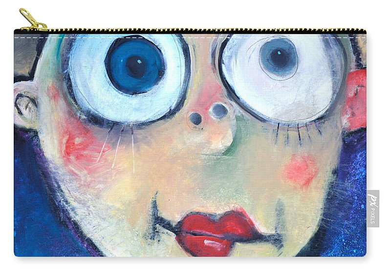 Child Carry-all Pouch featuring the painting As A Child by Tim Nyberg