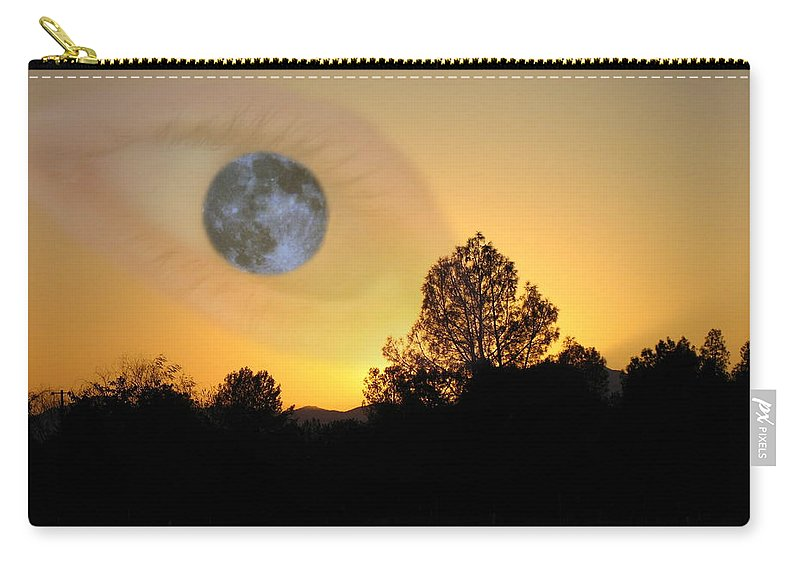 Eye Carry-all Pouch featuring the photograph As I See It by Joyce Dickens