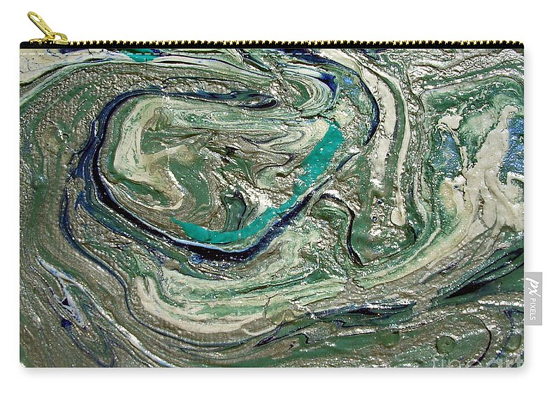 As It Were Carry-all Pouch featuring the painting As It Were by Dawn Hough Sebaugh