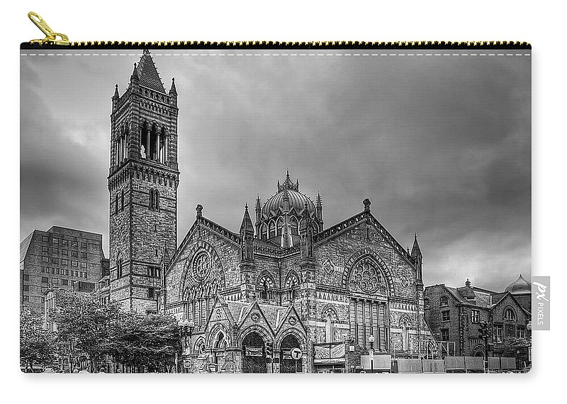 Boston Carry-all Pouch featuring the photograph As The World Passes By... by Evelina Kremsdorf