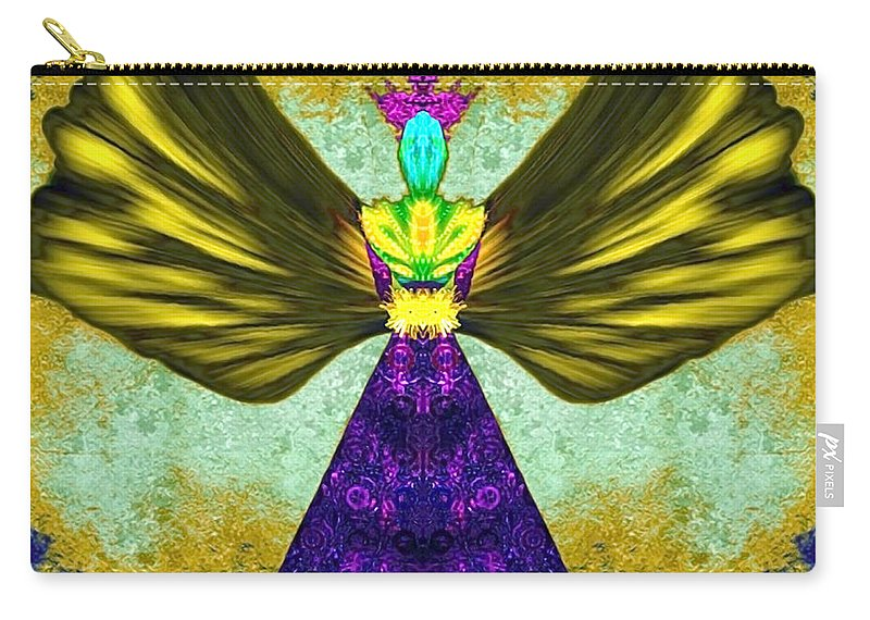 Angel Carry-all Pouch featuring the digital art Asariel by Raymel Garcia