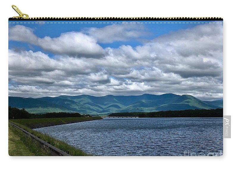 Ashokan Carry-all Pouch featuring the photograph Ashokan by Peter J Scott