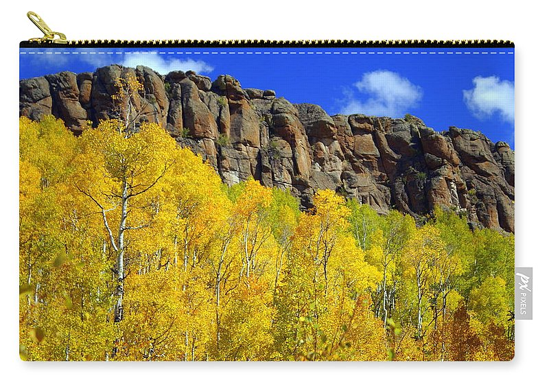 Fall Colors Carry-all Pouch featuring the photograph Aspen Glory by Marty Koch